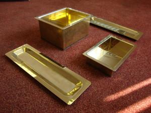 Brass Trolley Componenets